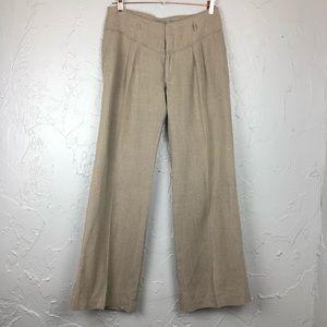Yaya Alfalo Linen Yute Wide Leg Pants